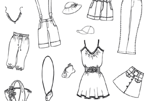Technical Drawings of Clothes